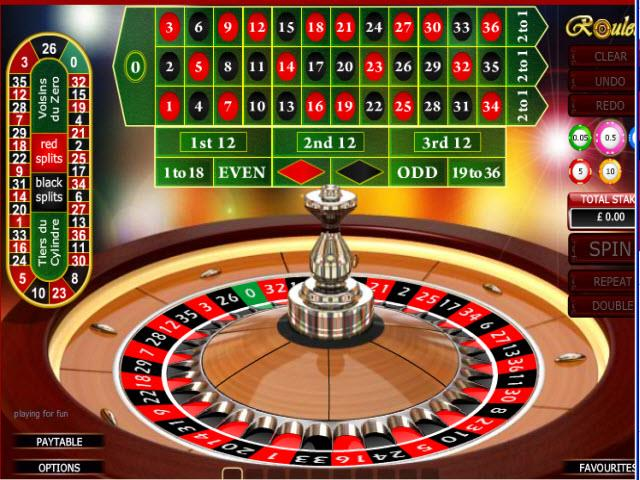 online casino euro european roulette