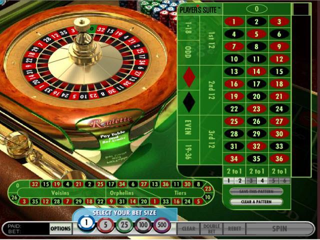 Premier online roulette