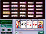 Aces and Eights 25 hand video poker