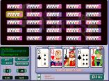 Aces and Faces 25 hand video poker